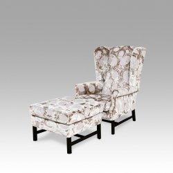Fotel +pufa Lori